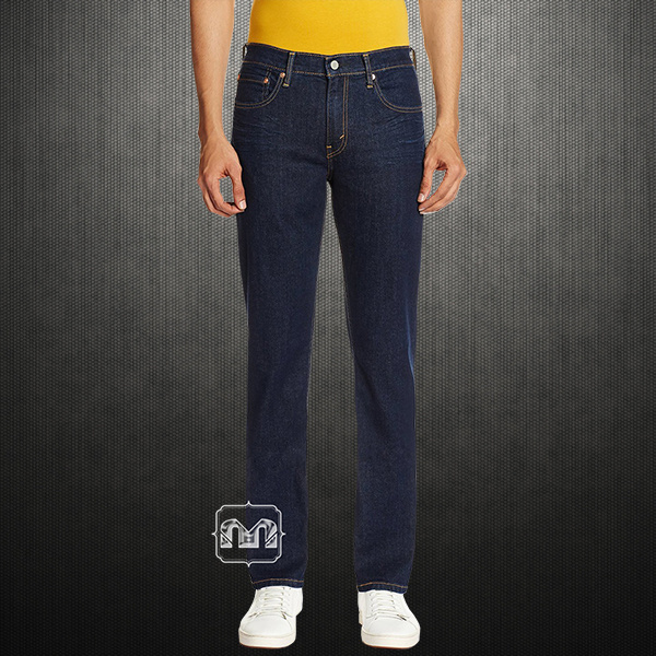 6b43c9d8 Levis 511 Slim Fit Solid Dark Blue Jeans | Malaabes Online Shopping ...