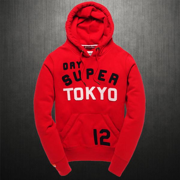 Superdry TOKYO 12 Red Hoodie  3c615bba8a