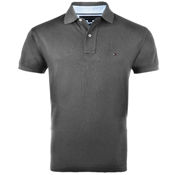 06ca8894 Tommy Hilfiger IVY Dark Grey Polo Shirt | Malaabes Online Shopping ...