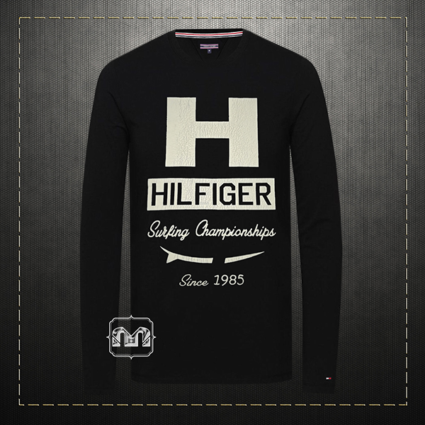 black long sleeve shirt h