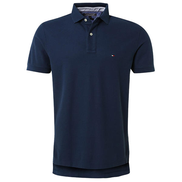 Tommy hilfiger new knit navy polo shirt malaabes online for Mens shirts online shopping